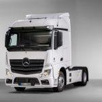 Mercedes Actros predelava na plin