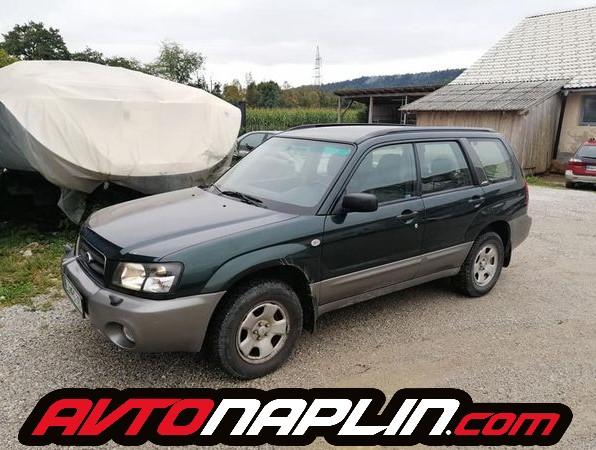 Subaru Forester na plin